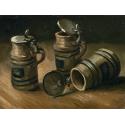 Reprodukcje obrazów Beer Tankards - Vincent van Gogh