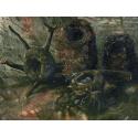 Reprodukcje obrazów Birds' Nests-1 - Vincent van Gogh
