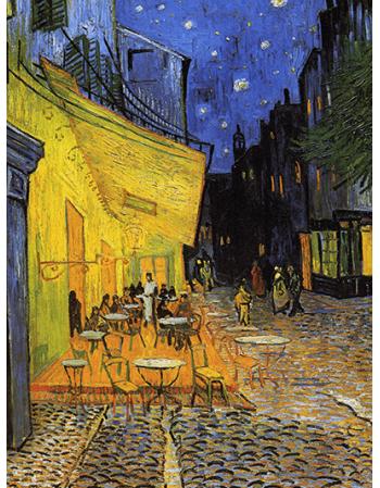 Reprodukcje obrazów Vincent van Gogh Cafe Terrace
