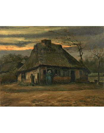 Reprodukcje obrazów Vincent van Gogh De hut