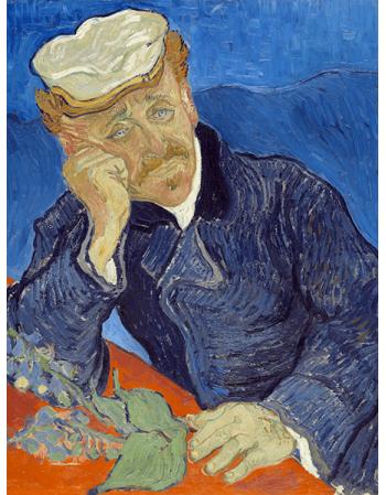 Reprodukcje obrazów Vincent van Gogh Dr Paul Gachet