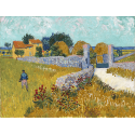 Reprodukcje obrazów Farmhouse in Provence - Vincent van Gogh