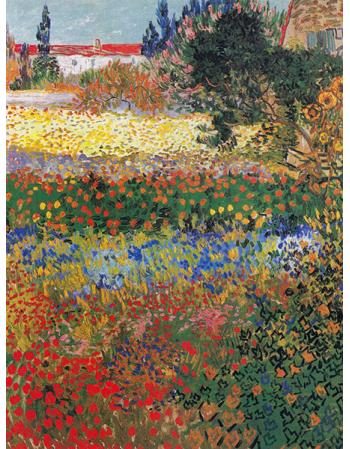 Reprodukcje obrazów Vincent van Gogh Flower garden
