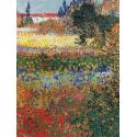Reprodukcje obrazów Flower garden - Vincent van Gogh