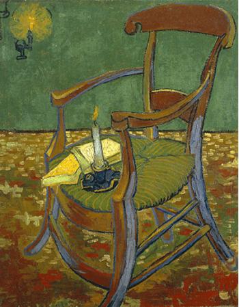 Reprodukcje obrazów Gauguin's Chair - Vincent van Gogh