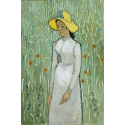 Reprodukcje obrazów Girl in White - Vincent van Gogh
