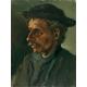 Reprodukcje obrazów Vincent van Gogh Head of a Man