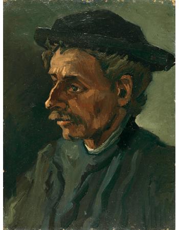Reprodukcje obrazów Head of a Man-1 - Vincent van Gogh