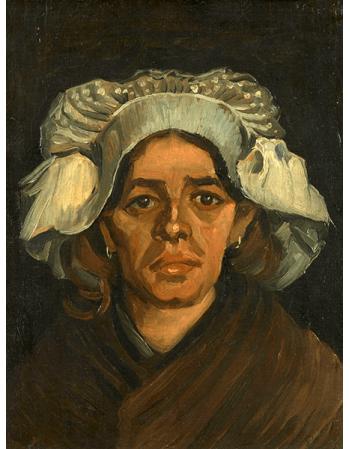Reprodukcje obrazów Head of a Woman - Vincent van Gogh