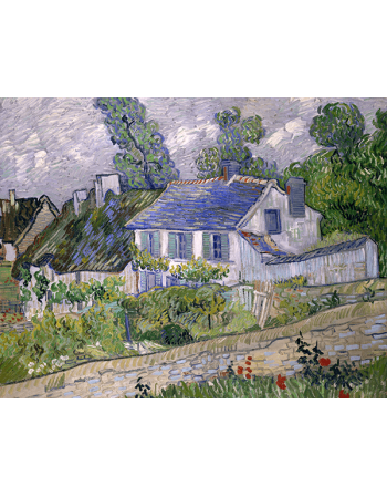 Reprodukcje obrazów Houses at Auvers - Vincent van Gogh