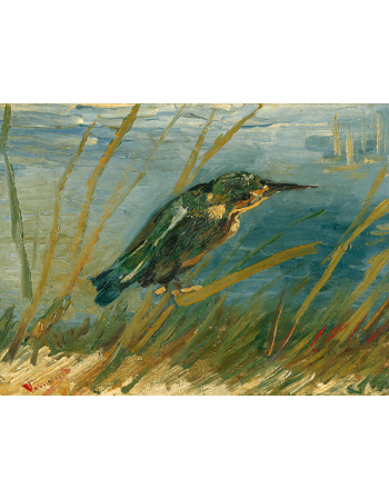 Reprodukcje obrazów Kingfisher by the Waterside - Vincent van Gogh