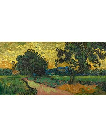 Reprodukcje obrazów Landscape at Twilight - Vincent van Gogh