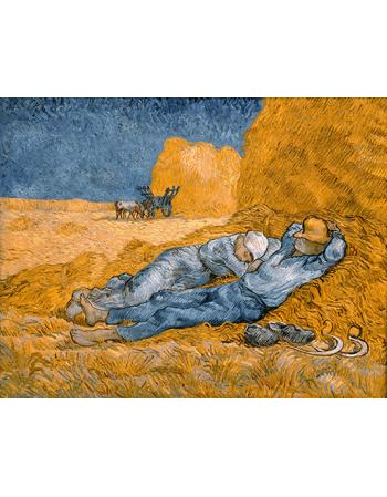 Reprodukcje obrazów Noon, rest from work - Vincent van Gogh