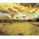 Reprodukcje obrazów Vincent van Gogh Paintings Landscape Under a Stormy Sky