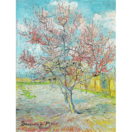 Reprodukcje obrazów Vincent van Gogh Peach Blossoms