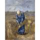 Reprodukcje obrazów Vincent van Gogh Peasant woman binding sheaves
