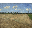 Reprodukcje obrazów Plowed fields - Vincent van Gogh