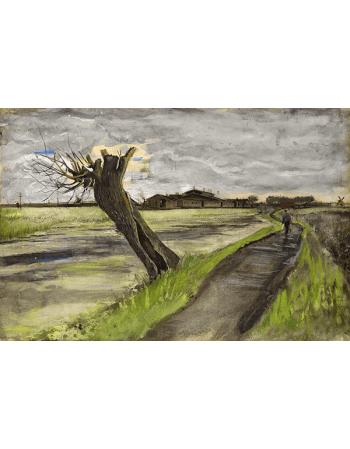 Reprodukcje obrazów Pollard willow - Vincent van Gogh