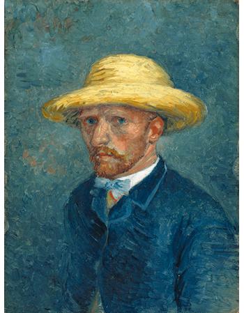 Reprodukcje obrazów Vincent van Gogh Portrait of Theo van Gogh