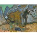 Reprodukcje obrazów Ravine with a Small Stream - Vincent van Gogh