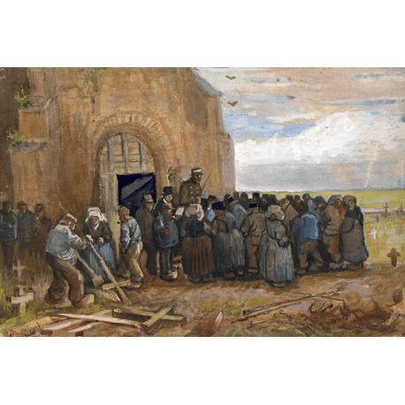 Reprodukcje obrazów Vincent van Gogh Sale of Building Scrap