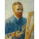 Reprodukcje obrazów Vincent van Gogh Self-Portrait as a Painter