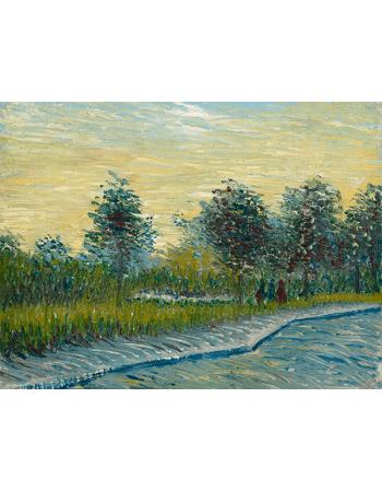 Reprodukcje obrazów Vincent van Gogh Square Saint-Pierre at Sunset