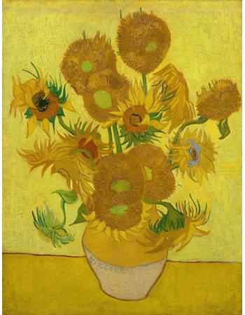 Reprodukcje obrazów Vincent van Gogh Sunflowers