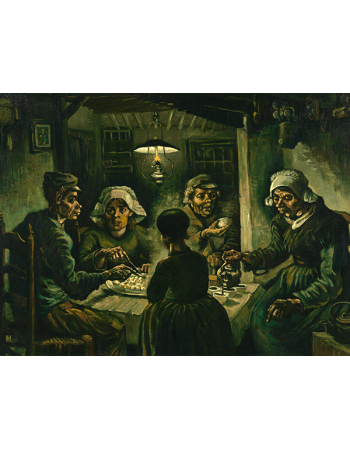 Reprodukcje obrazów Vincent van Gogh The Potato Eaters