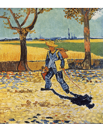 Reprodukcje obrazów Vincent van Gogh The Painter on His Way to Work