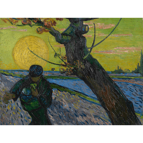 Reprodukcje obrazów Vincent van Gogh The Sower