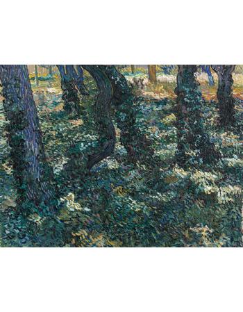 Reprodukcje obrazów Vincent van Gogh Undergrowth