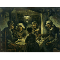 Reprodukcje obrazów Van willem vincent gogh the potato eaters - Vincent van Gogh