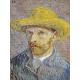 Reprodukcje obrazów Vincent van Gogh Self Portrait with Straw Hat