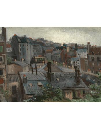 Reprodukcje obrazów View from Vincent's Studio - Vincent van Gogh
