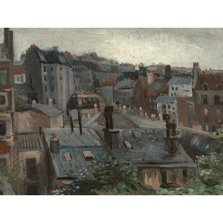 Reprodukcje obrazów Vincent van Gogh View from Vincent's Studio