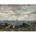 Reprodukcje obrazów View of Paris - Vincent van Gogh