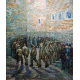Reprodukcje obrazów Vincent van Gogh Walk prisoners
