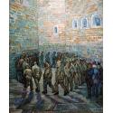 Reprodukcje obrazów Walk prisoners - Vincent van Gogh