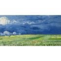 Reprodukcje obrazów Wheatfield under thunder clouds - Vincent van Gogh