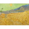 Reprodukcje obrazów Wheatfield with a Reaper - Vincent van Gogh