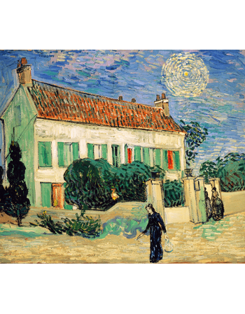 Reprodukcje obrazów Vincent van Gogh White house night