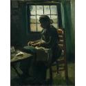 Reprodukcje obrazów Woman Sewing - Vincent van Gogh