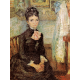 Reprodukcje obrazów Vincent van Gogh Woman sitting by a cradle