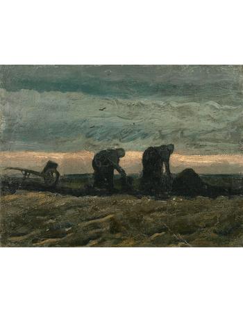 Reprodukcje obrazów Vincent van Gogh Women on the Peat Moor