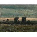 Reprodukcje obrazów Women on the Peat Moor - Vincent van Gogh