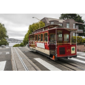 Czerwony tramwaj