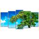 Obraz na płótnie poliptyk Piękne drzewo