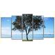 Obraz na płótnie poliptyk Samotne drzewo
