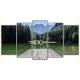 Obraz na płótnie poliptyk Górski pomost